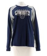 NFL Dallas Men's Hands High Long Slv Top Jimmy Fallon Cowboys L NEW A296446 - $22.75