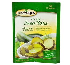 Mrs. Wages Refrigerator Sweet Pickle Seasoning Mix, 1.94 Oz. Pouch (Pack of 4) - $17.20