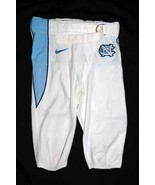 UNC TARHEEL GAME USED FOOTBALL PANTS WHITE Si... - $29.00