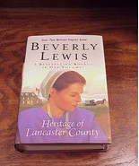 Hertiage of Lancaster County Trilogy Book Beverly Lewis - $7.95