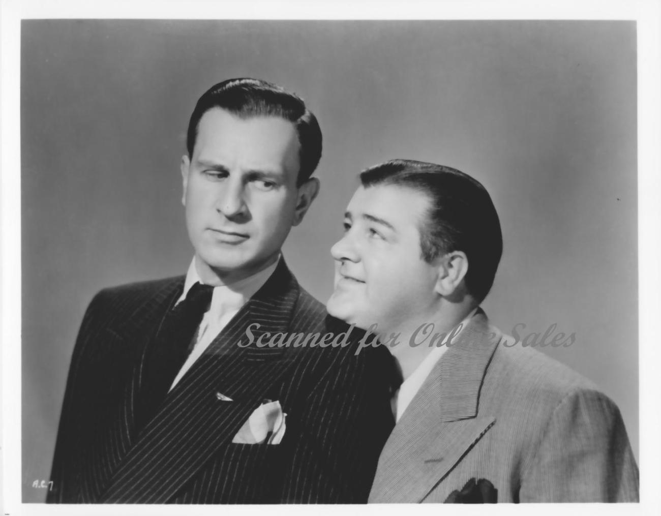Abott & Costello 8x10 Photo