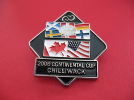 Curling 2006 Continental Cup Chilliwack Souvenir Lapel Pin - $7.99