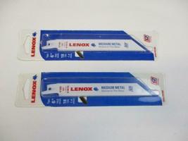 2 Lenox 618R 6 inch Reciprocating Saw Blades Medium Metal to Thin Metal - $7.43