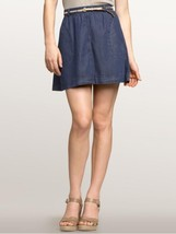 New $50 Womens Gap 1969 Apron Skirt Jean 25 0 Mid thigh NWT Mini A Line  - $15.00