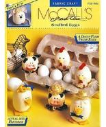 McCall's STUFFED EGGS Craft Pattern Booklet  - $24.99