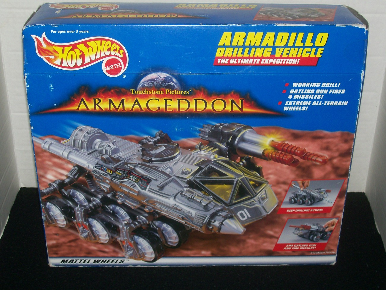 Primary image for HOT WHEELS ARMAGEDDON ARMADILLO DRILLING VEHICLE BIG