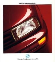 1994 Volkswagen JETTA III brochure catalog US 94 VW GLS GLX - $9.00