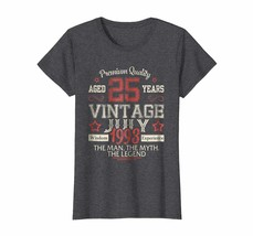 Brother Shirts - Vintage Legends Born In JULY 1993 Aged 25 Years Old Bei... - $19.95+