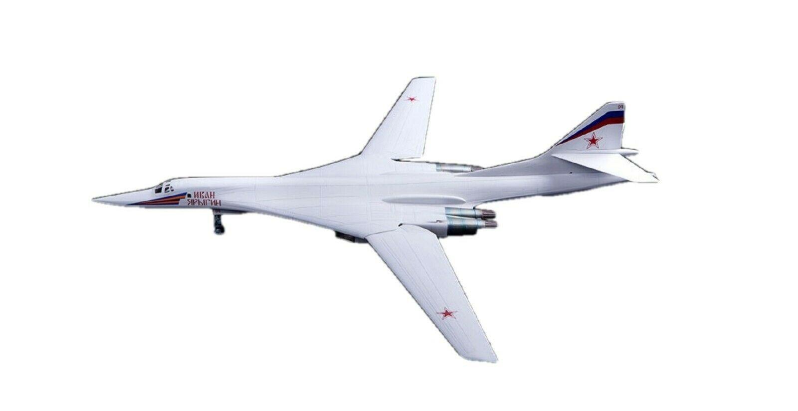 Academy 12621 Russian Air Force Tu-160 Blackjack Plamodel Plastic Hobby Model