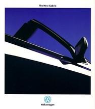 1994/1995 Volkswagen CABRIO sales brochure catalog US 95 VW - $8.00