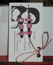 Pretty Pink Earrings - $5.99