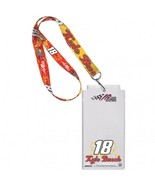 Nascar Kyle Busch #18 M & M's Credential Holder with Lanyard - $9.95