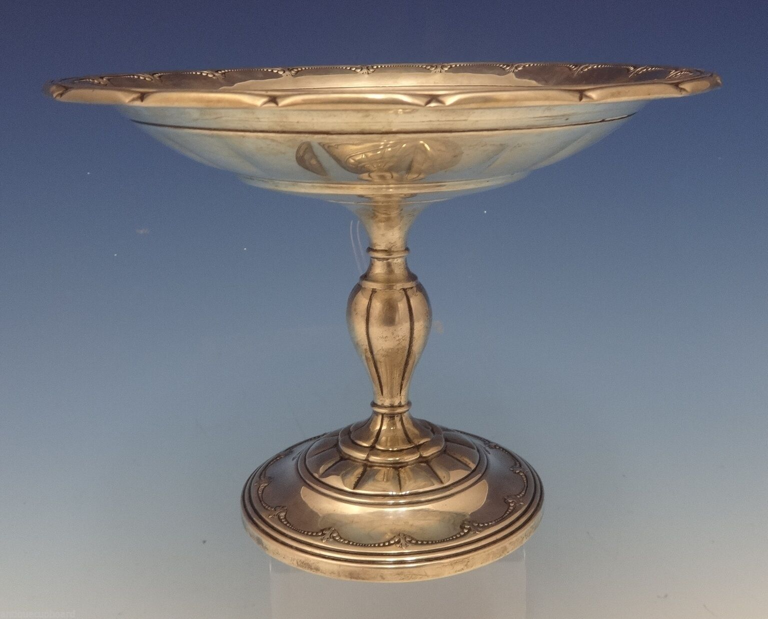 "Primary image for Old Colonial by Towle Sterling Silver Compote Raised 7 1/2"" #15222 (#0492)"