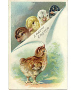 A Happy Easter Tuck and Sons Vintage Post Card - $5.00