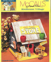 "Vtg McCall's Creates ""Birdhouse Village"" Pattern Booklet - $8.98"