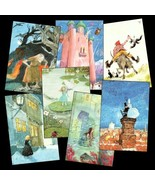 7 Pretty Cards w/ Hans Christian Andersen's Fairytales - $15.75