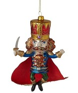 Midwest CBK Nutcracker Suite Glass Christmas Holiday Ornament 6 Inches - $26.27