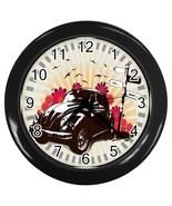 Summer Days Custom Black Wall Clock - $19.95