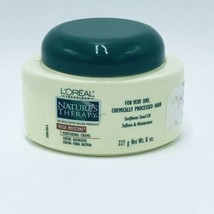 L'oreal Nature's Therapy Mega Moisture Hair Nurturing Creme 8 oz New - $16.99