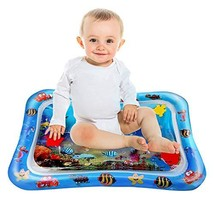 Infant Toys Tummy Time Mat Baby Water Mat Inflatable Play Mat for Baby Boys Newb