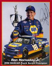 RON HORNADAY JR. Autographed Racer Postcard - $7.95