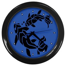 Koi Custom Black Wall Clock - $19.95