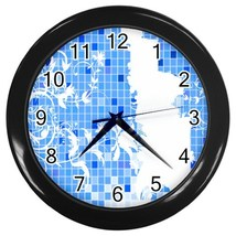 Designer Series 4 Custom Black Wall Clock - $19.95