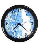 Designer Series 4 Custom Black Wall Clock - $19.95