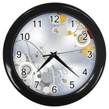 Designer Series 6 Custom Black Wall Clock - $19.95