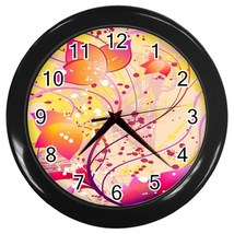 Designer Series 7 Custom Black Wall Clock - $19.95