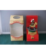 Rotating Musical Stocking Hanger George Good Co New In Box - $8.50