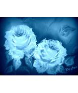 Blue Roses - $10.00