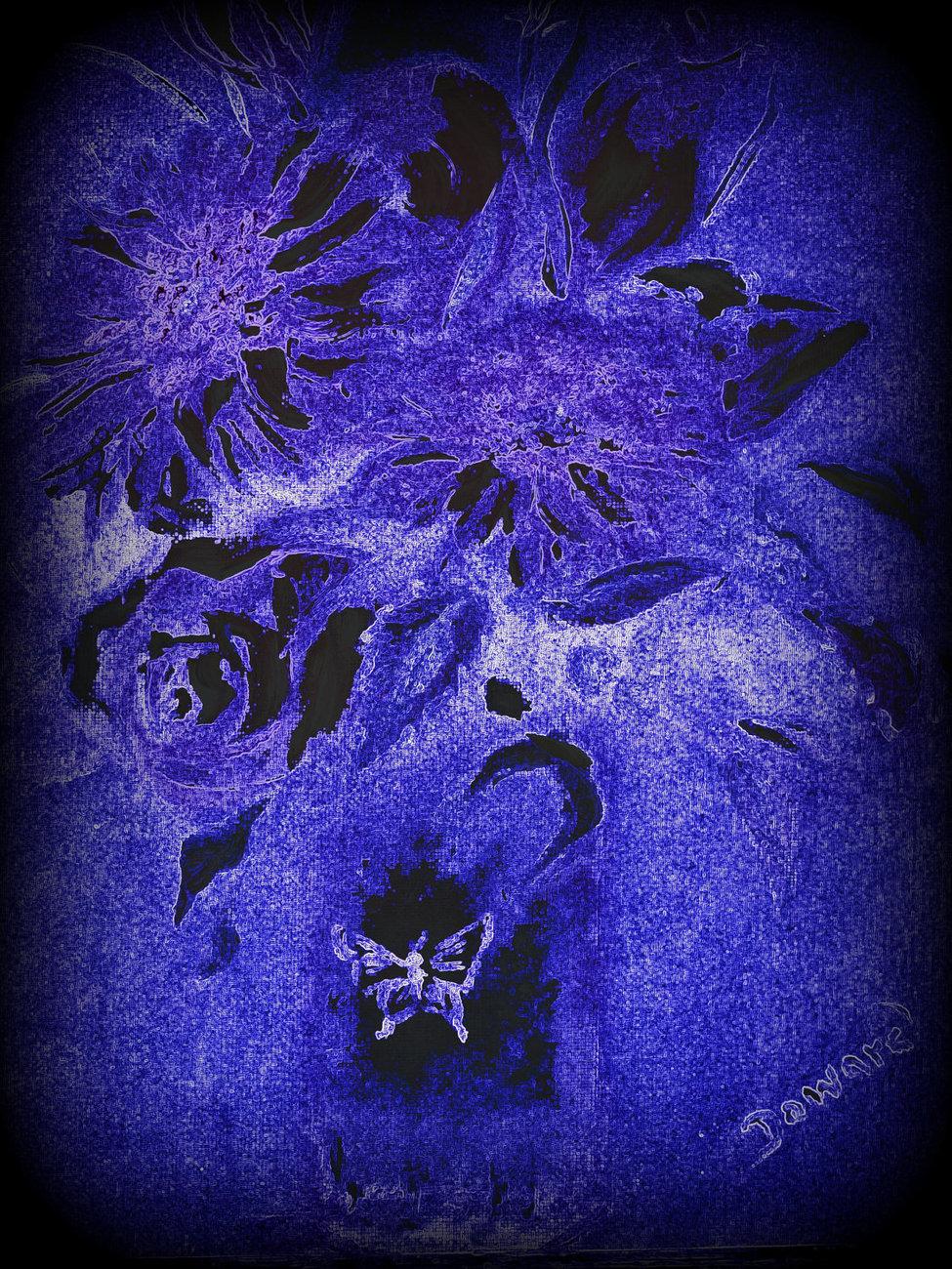 Modern Original Floral bouquet Print