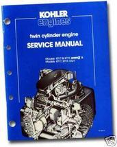 REPAIR Manual KT Series I & II  for KOHLER Engine - $35.99