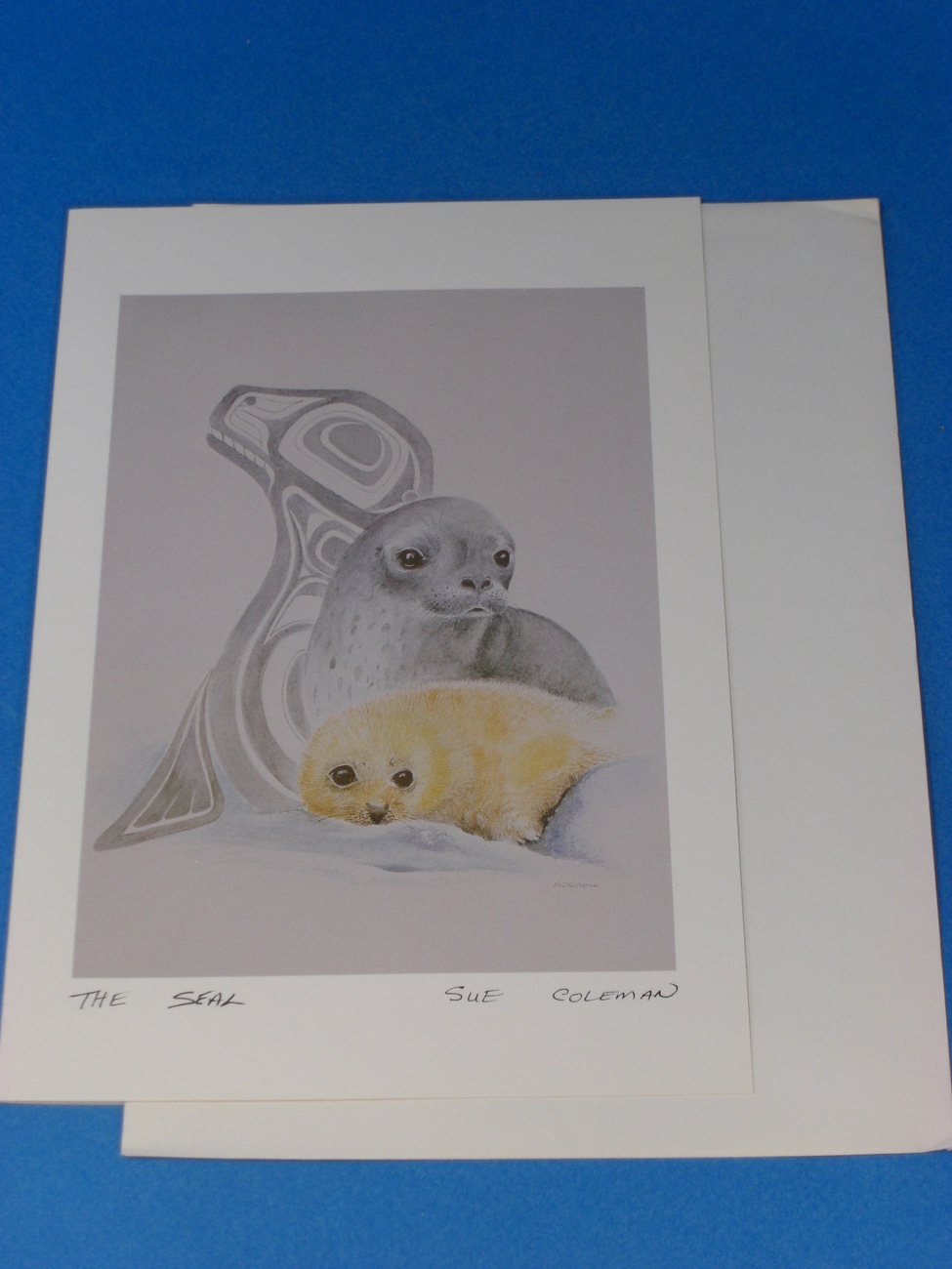 THE SEAL Art Card by Susan Coleman