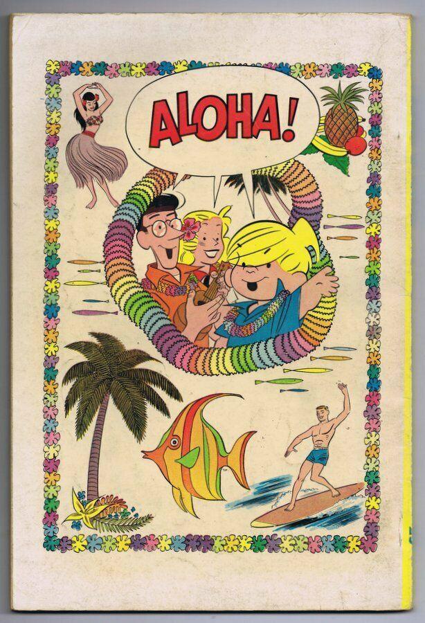 Dennis the Menace in Hawaii #6 6th Print ORIGINAL Vintage 1963 Fawcett Comics   image 2