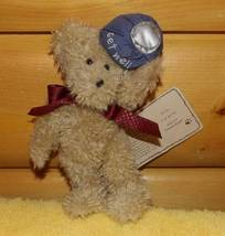 Boyds Thinking of Ya Tan Oatmeal U.B. BETTER Get Well Plush Bear Holds Ice Pack  - $5.95