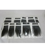 100% Human Hair Handwoven Bangs Thin Extensions For Women 10 packs - $24.74