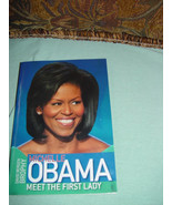 Michelle Obama,Meet The First Lady By David Bergen New - $19.00