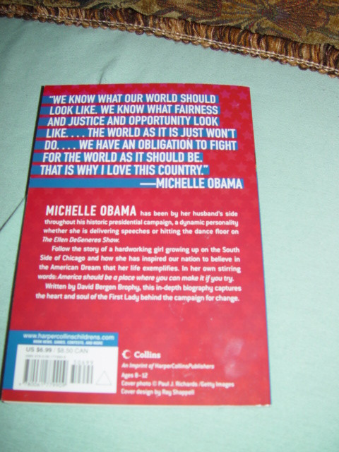 Michelle Obama,Meet The First Lady By David Bergen New