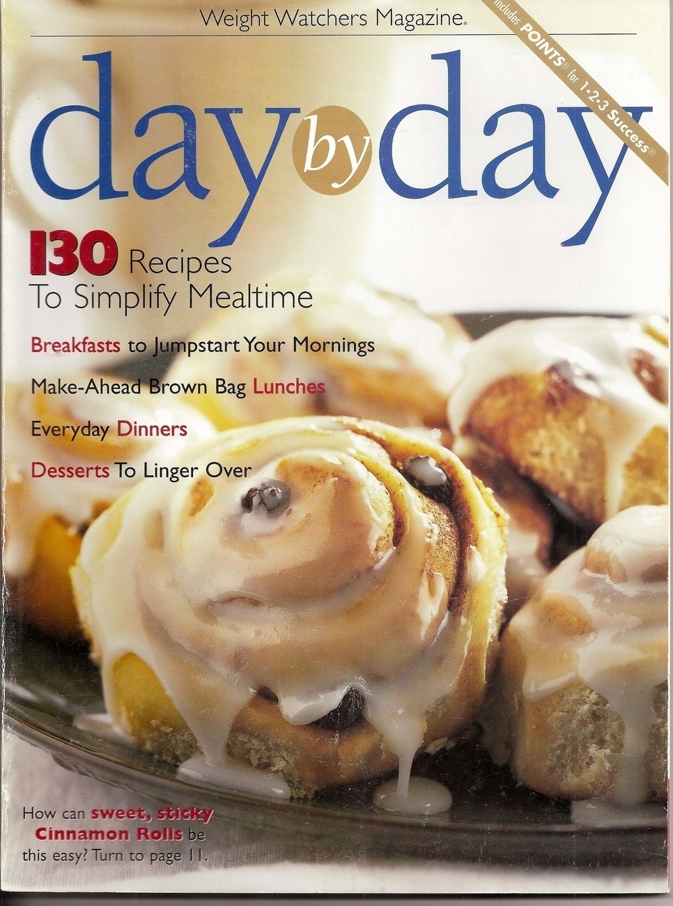 day by day weight watchers magazine cookbook cookbooks. Black Bedroom Furniture Sets. Home Design Ideas