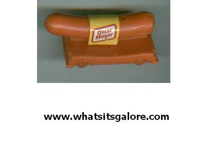 Oscar Mayer Weinermobile Weiner Whistle mobile