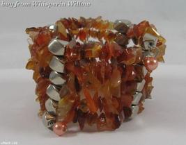 Goldstone Matrix Gemstone Necklace / Bracelet Lariat - $24.95