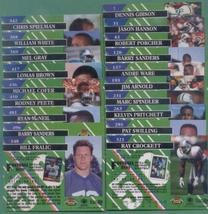 1993 Stadium Club Detroit Lions Football Team Set - $3.00
