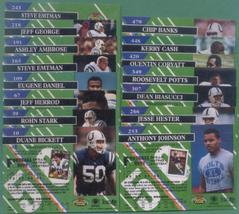 1993 Stadium Club Indianapolis Colts Football Team Set - $3.00