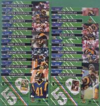 1993 Stadium Club Los Angeles Rams Football Team Set - $4.00