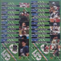 1993 Stadium Club New England Patriots Football Team Set - $4.99