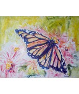 Original Butterfly Acrylic Reproduction - $10.00