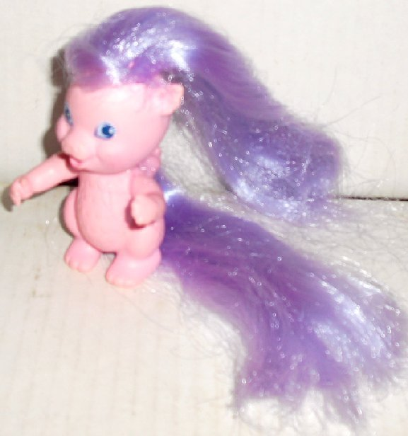 Vtg 1986 LADY LOVELY LOCKS Merry Curl DRAGON  3.5""