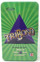 TriBond Travel Version 600 Questions Threezer New Sealed Tin Box Matt Ga... - $20.35